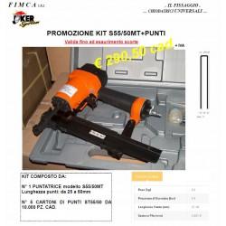 Offerta Kit Puntatrice pneumatica S55/50MT+PUNTI